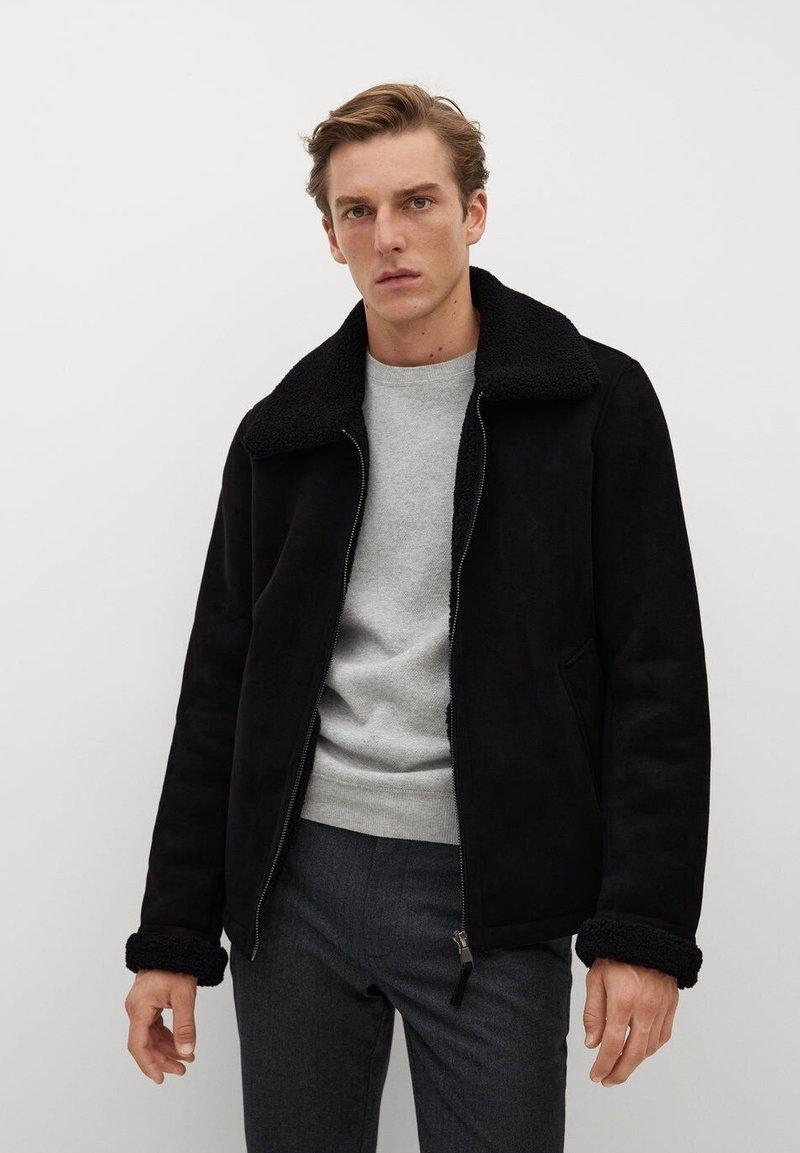 Mango - ORSON - Light jacket - schwarz