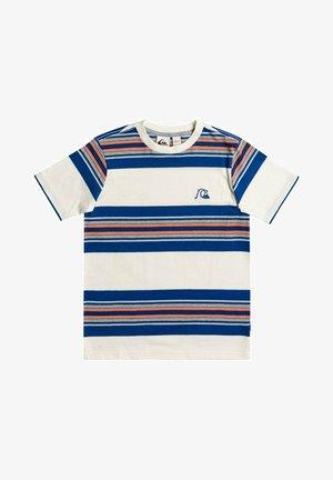 Print T-shirt - true navy coreky