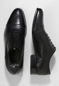 Prime Shoes - CLIFF - Elegantní šněrovací boty - black - 1