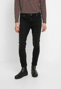 Scotch & Soda - SKIM  - Slim fit jeans - black out - 0