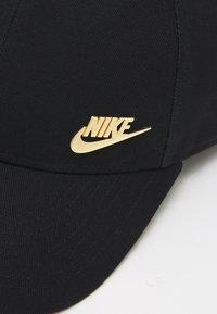 Nike Sportswear - FUTURA  UNISEX - Cap - black/metallic gold - 3