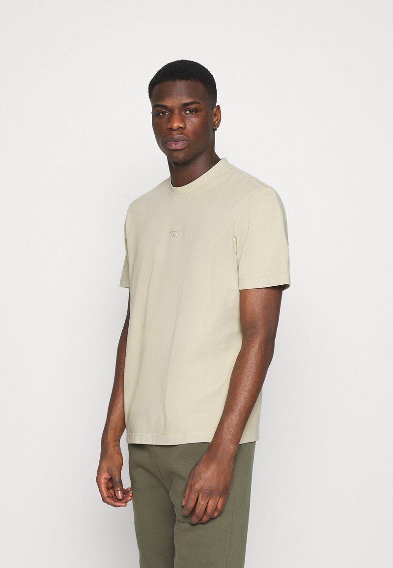 Reebok Classic - TEE - T-shirt basic - stucco
