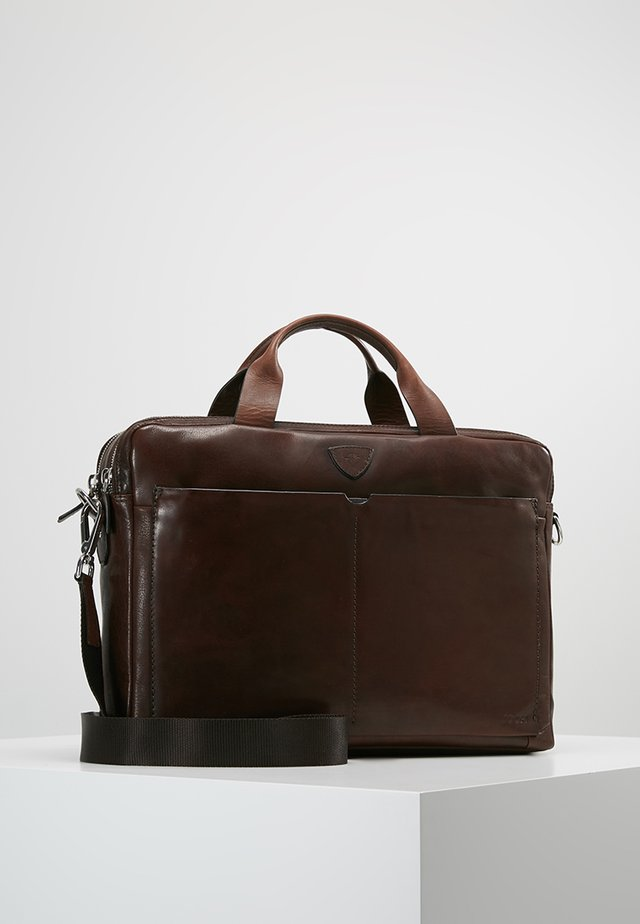 BRENTA PANDION BRIEFBAG - Aktówka - brown