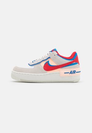 AIR FORCE 1 SHADOW - Sneaker low - sail/university red/photo blue/royal blue/crimson tint/sail
