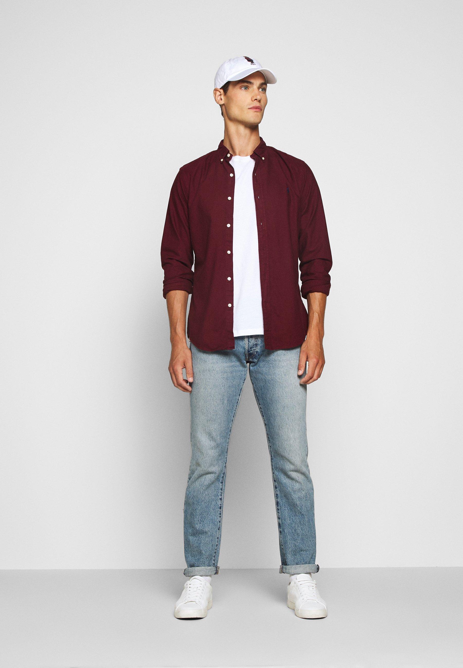 Uomo SLIM FIT OXFORD SHIRT - Camicia