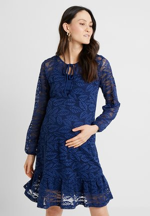 DRESS - Day dress - medieval blue