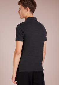 Polo Ralph Lauren - SLIM FIT MODEL - Polo - black coal heather - 2