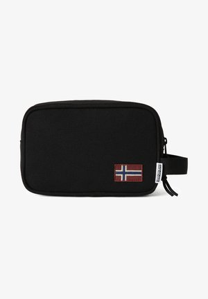 HERING POUCH - Wash bag - black