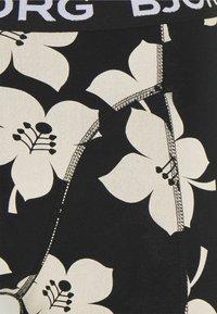 Björn Borg - GRAPHIC FLORAL SAMMY 2 PACK - Underkläder - black beauty - 4