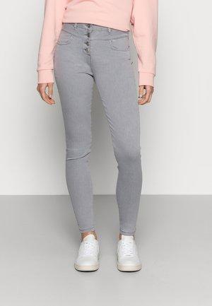 JEGGINGS DOUBLEWAIST - Slim fit jeans - grau