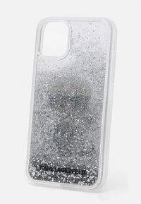KARL LAGERFELD - IKONIK GLITTER CASE IPHONE 11 - Handytasche - transparent - 2