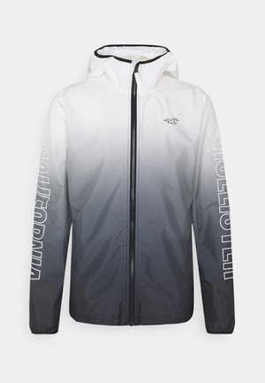 Summer jacket - black/white ombre