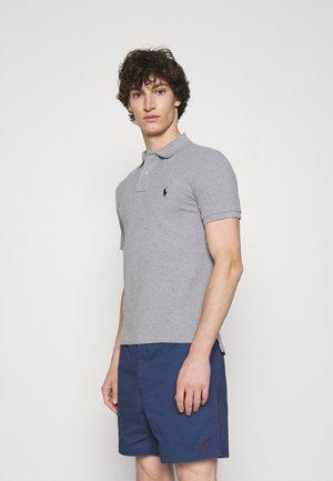 SLIM FIT MESH POLO SHIRT - Poloshirt - andover heather