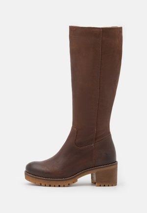 ALEXA - Høje støvler/ Støvler - brown
