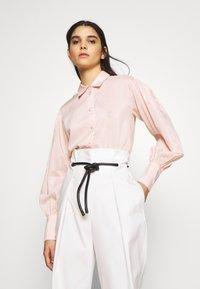 DESIGNERS REMIX - MELA - Button-down blouse - peach - 0