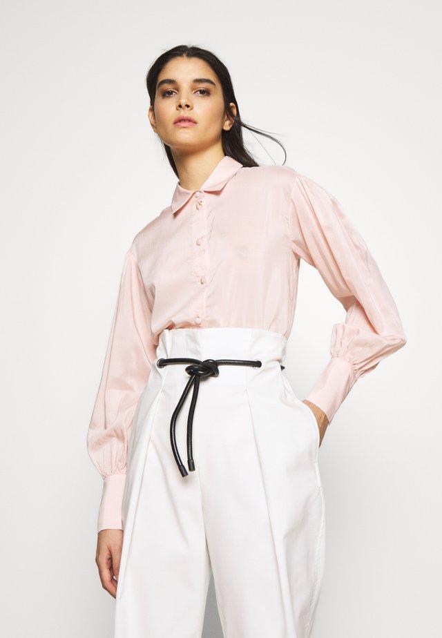 MELA - Button-down blouse - peach
