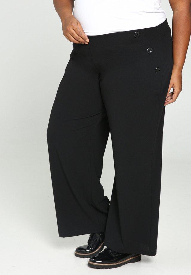 JAMBES  - Spodnie materiałowe - black