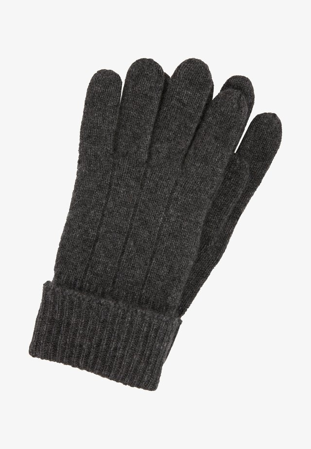 Gloves - dark gray