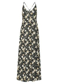 Even&Odd - Maxi-jurk - black/yellow - 6