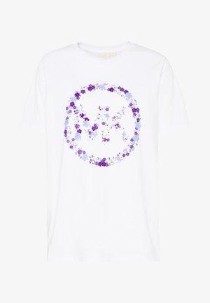 CIRCLE TEE - T-shirt imprimé - white