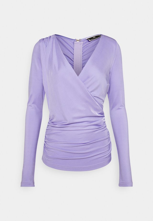 Long sleeved top - lavanda