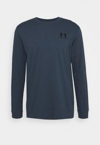 Under Armour - SPORTSTYLE LEFT CHEST - Funktionstrøjer - mechanic blue - 0