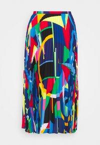 Lauren Ralph Lauren - SKIRT - Pleated skirt - black/multi - 4