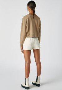 PULL&BEAR - Sweatshirts - mottled light brown - 2