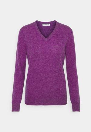 V NECK - Trui - alice purple