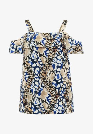 COLD SHOULDER SNAKE MIX PRINT - Bluse - multi coloured