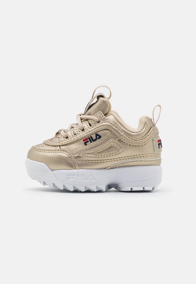Fila - DISRUPTOR INFANTS - Sneakers laag - gold