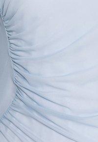 NA-KD - ASYMMETRIC GATHERED - Long sleeved top - blue - 7