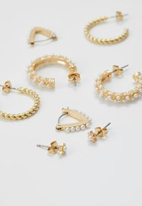 Pieces - PCNIVI EARRINGS 4 PACK - Earrings - gold-coloured - 3