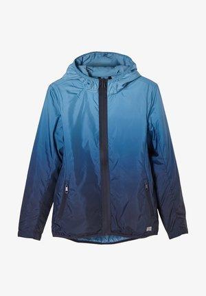 Light jacket - blue gradient