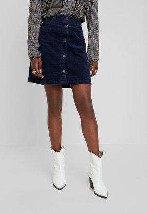 Áčková sukně - real navy blue