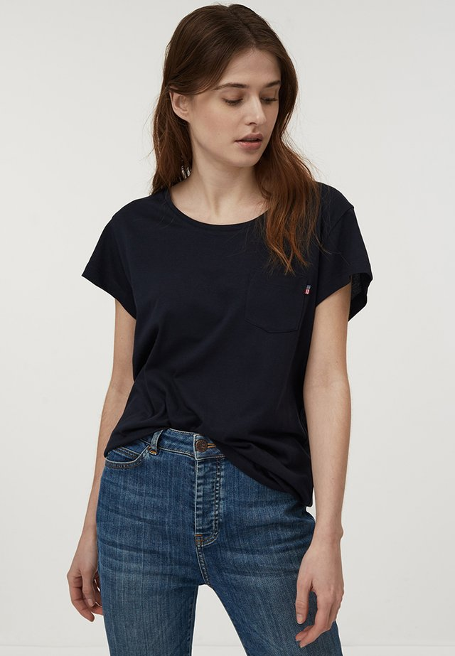 ASHLEY  - T-shirt basic - dark blue