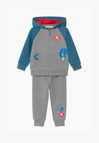 Converse - COLORBLOCK DINO SET - Tracksuit - grey - 0