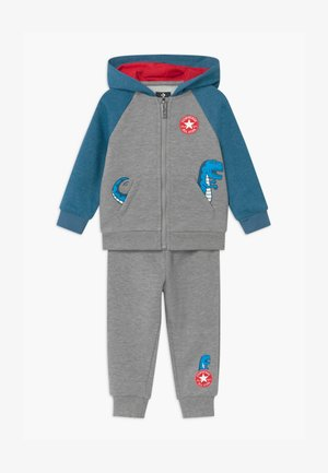 COLORBLOCK DINO SET - Tracksuit - grey