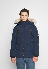 PARELLEX - REVOLT LONG BUBBLE JACKET - Winter coat - navy - 0