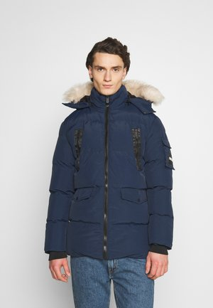 REVOLT LONG BUBBLE JACKET - Winterjas - navy