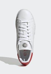 adidas Originals - STAN SMITH - Trainers - ftwr white ftwr white red - 1