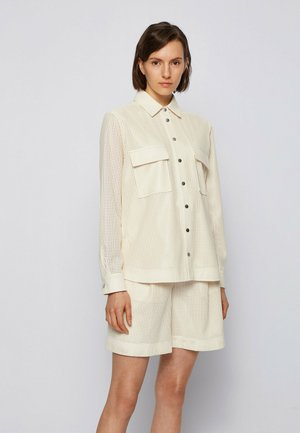 C_BAFY - Button-down blouse - white