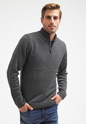 Neule - dark grey melange