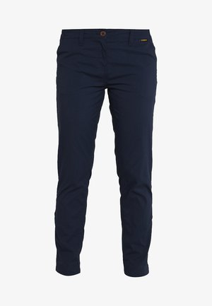 DESERT ROLL UP PANTS - Pantalones montañeros largos - midnight blue