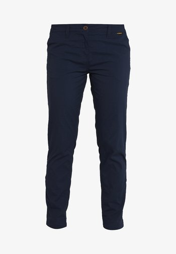 DESERT ROLL UP PANTS - Outdoor trousers - midnight blue