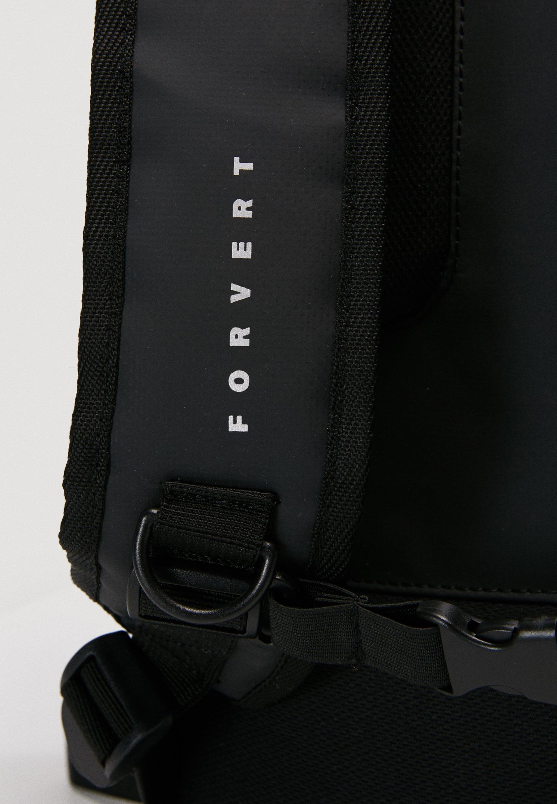Forvert TARP LORENZ - Tagesrucksack - black/schwarz - Herrentaschen wcU8U