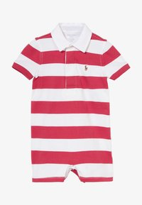 Polo Ralph Lauren - RUGBY ONE PIECE  - Jumpsuit - sunrise red multi - 2