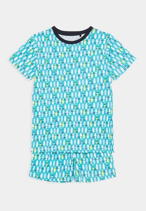 KIDS NIGHTWEAR SURFBOARD - Pyjamas - türkis