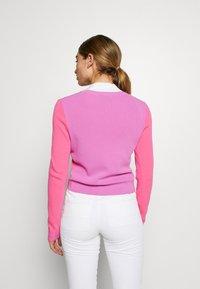 J.LINDEBERG - MELODY - Mikina na zip - pop pink - 2
