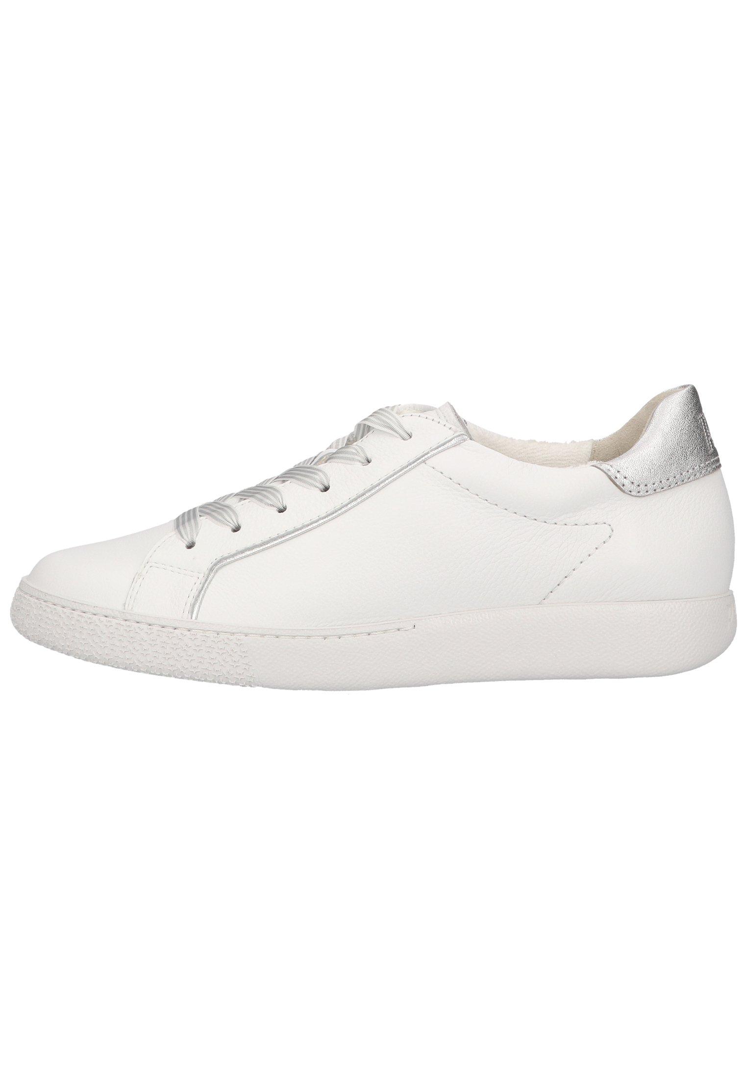 Femme Baskets basses - weiß/silber